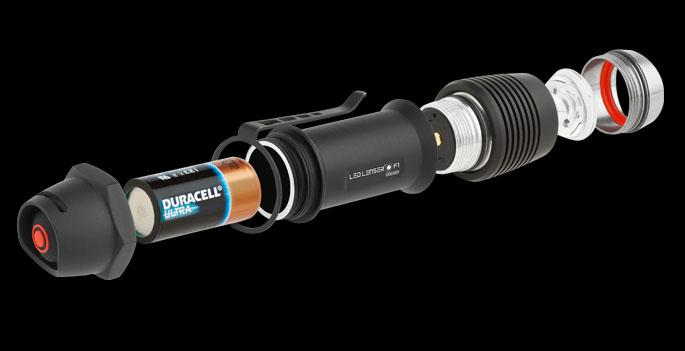 Фонарь LED Lenser F1R 8701-R