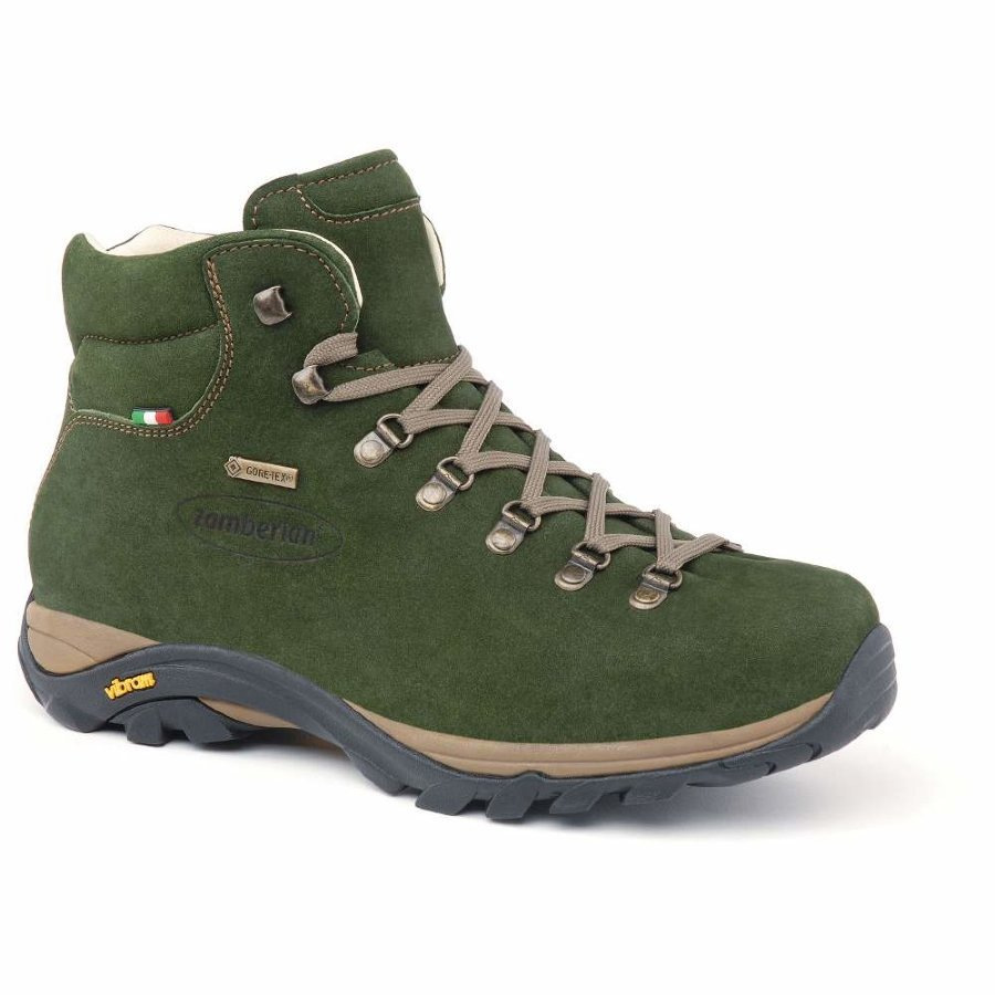Ботинки мужские Zamberlan 320 New Trail Lite Evo GTX dark green - 44 1