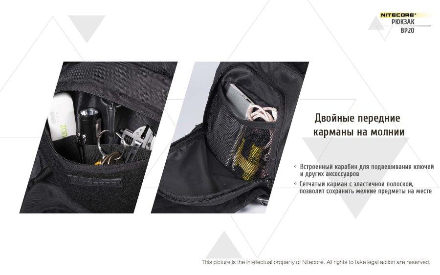 48c3512577bb Рюкзак тактический Nitecore BP20 32760