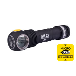 Фонарь Armytek Elf C2 Micro-USB+18650 XP-L Warm
