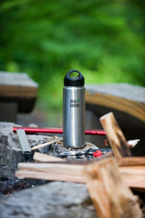 Фляга Klean Kanteen Wide Brushed Stainless 800 мл 46753